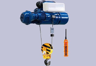 MD Type Double Speed Wire Rope Electric Hoist of DJCRANES