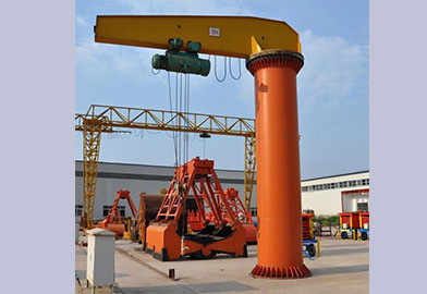 BZ Type Pillar Jib Crane of DJCRANES