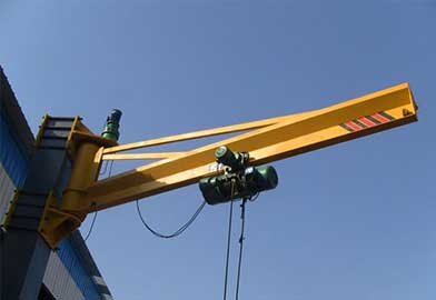 BX Type Wall Mounted Jib Crane of DJCRANES
