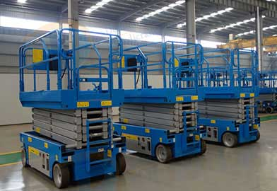 GTJZ Series Electric Hydraulic Scissor Lift of DJCRANES