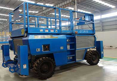 GTJN Rough Terrain Scissor Lift