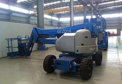 GTZD(N) Series Articulating Boom Lift of DJCRANES
