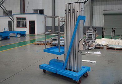 GTWDY Series Simple Vertical Mast Lift of DJCRANES