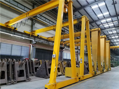 BMH(G) Type Semi Gantry Crane