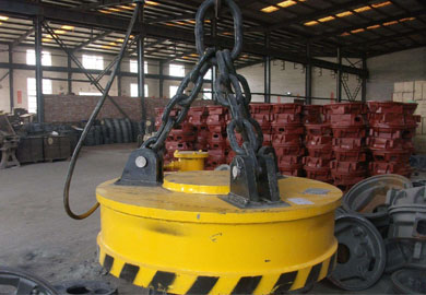 Lifting Electromagnet for Cranes-Crane Lifting Magnet of DJCRANES