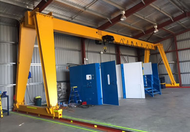 European Gantry Crane-European Single Girder & Double Girder Gantry Crane