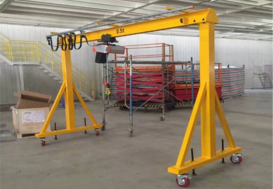 Mobile Gantry Crane of DJCRANES