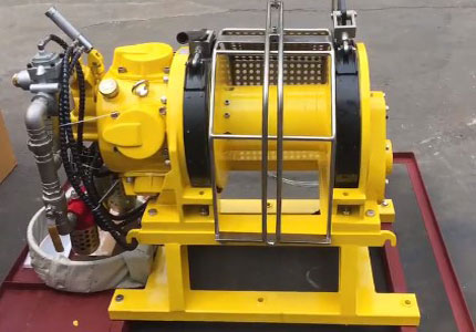 Air Winch/Pneumatic Winch: Piston Air Winch and Blade Air Winch