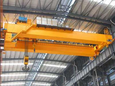 QD Series Double Girder Overhead Crane with Winch Trolley
