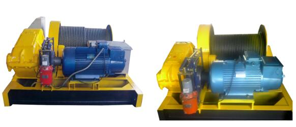 JK series electronic control high speed winch