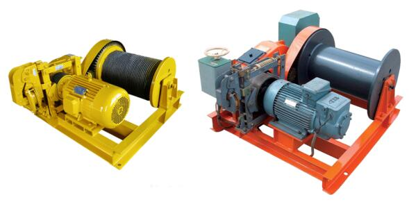 JM Series electronic controlling slow speed winch