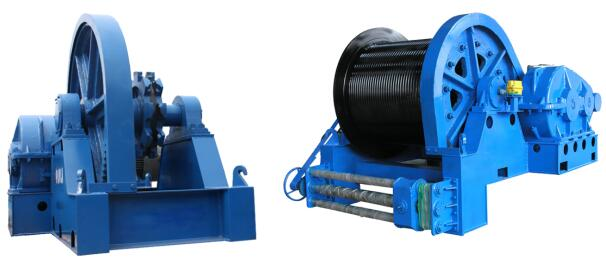 JMM friction series winches