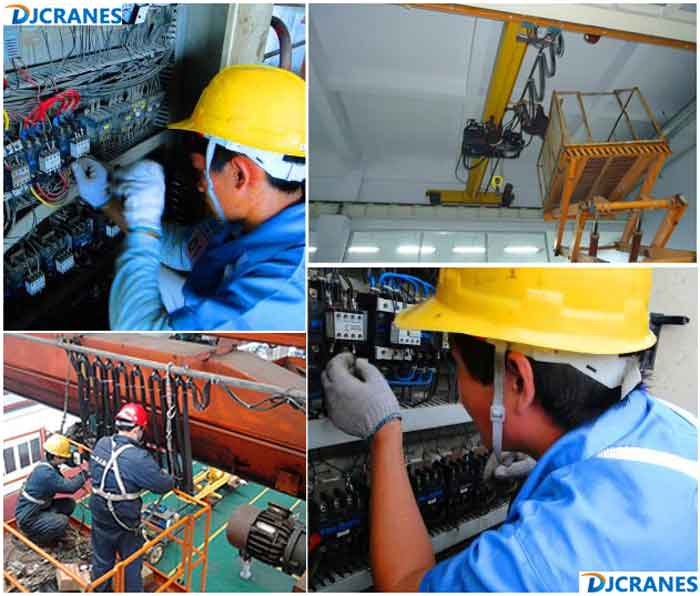 Maintenance of single beam crane.jpg